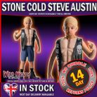 Fancy Dress Costume ~  Boys WWE Deluxe Stone Cold Steve Austin Small Age 3-4